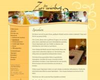 Restaurant | Speisekarte | Gasthaus Zur Marienburg