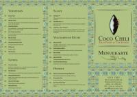 Coco Chili | Speisekarte | Seite 01